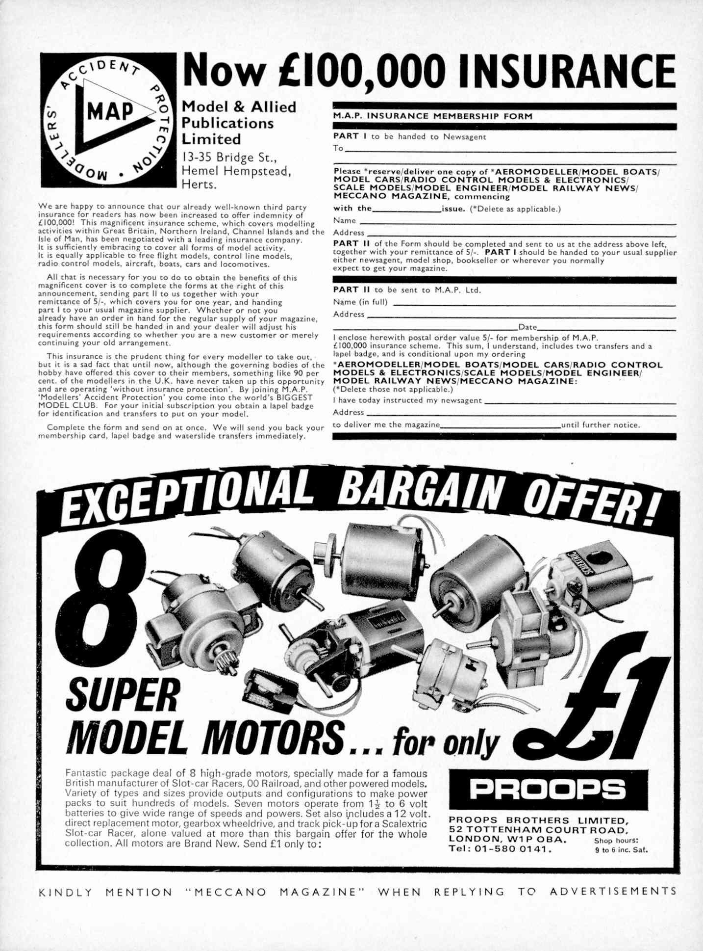 UK Meccano Magazine October 1970 Page 530