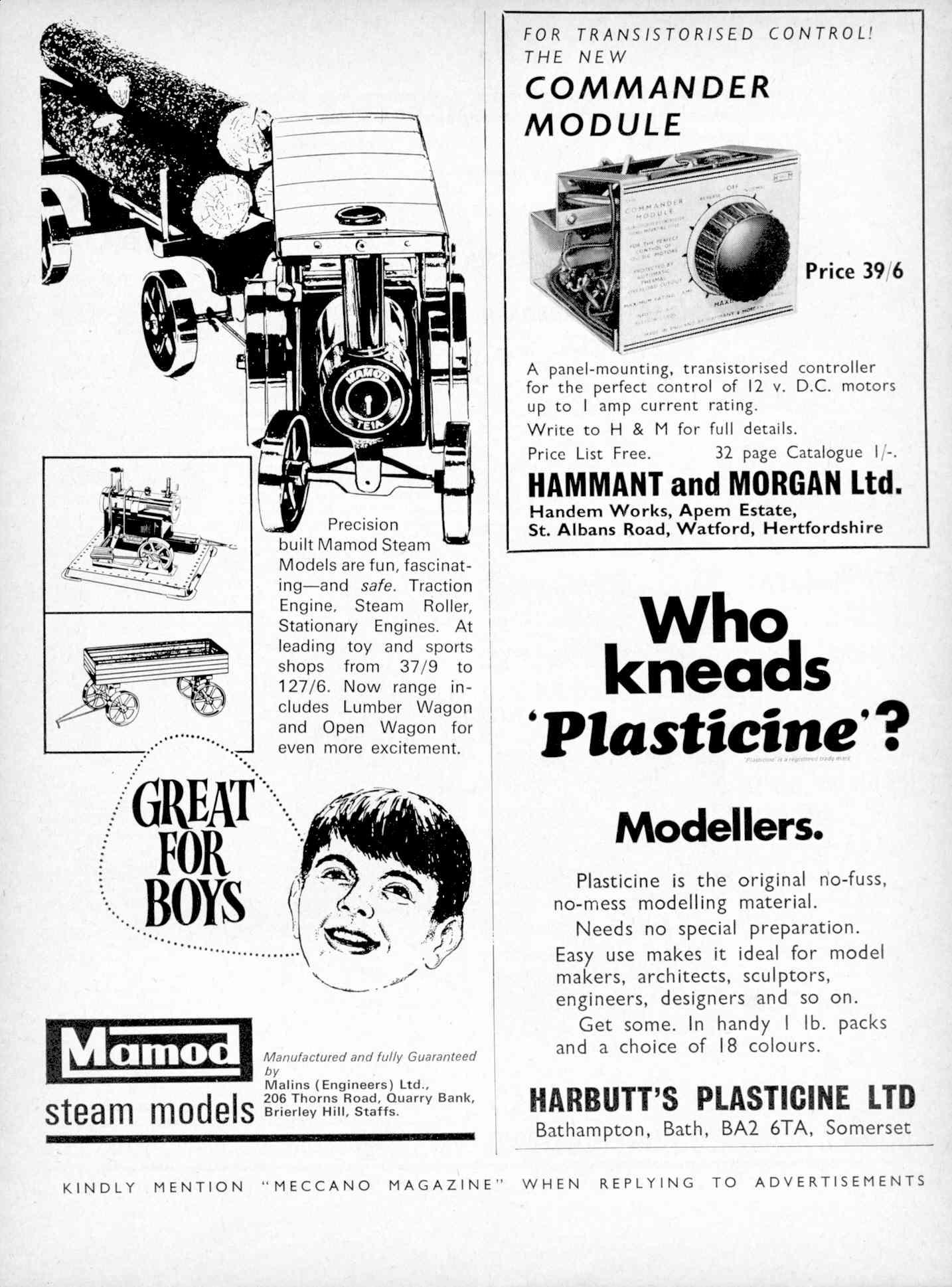 UK Meccano Magazine October 1970 Page 531
