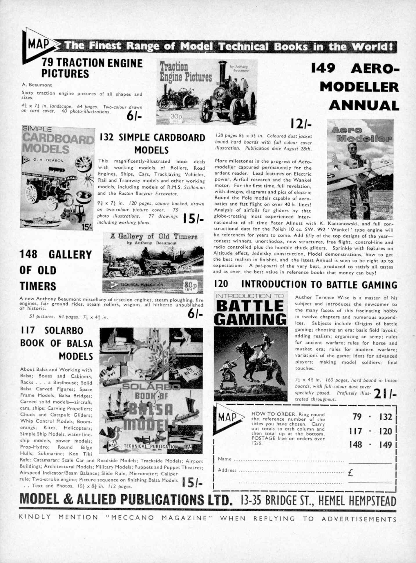 UK Meccano Magazine October 1970 Page 532