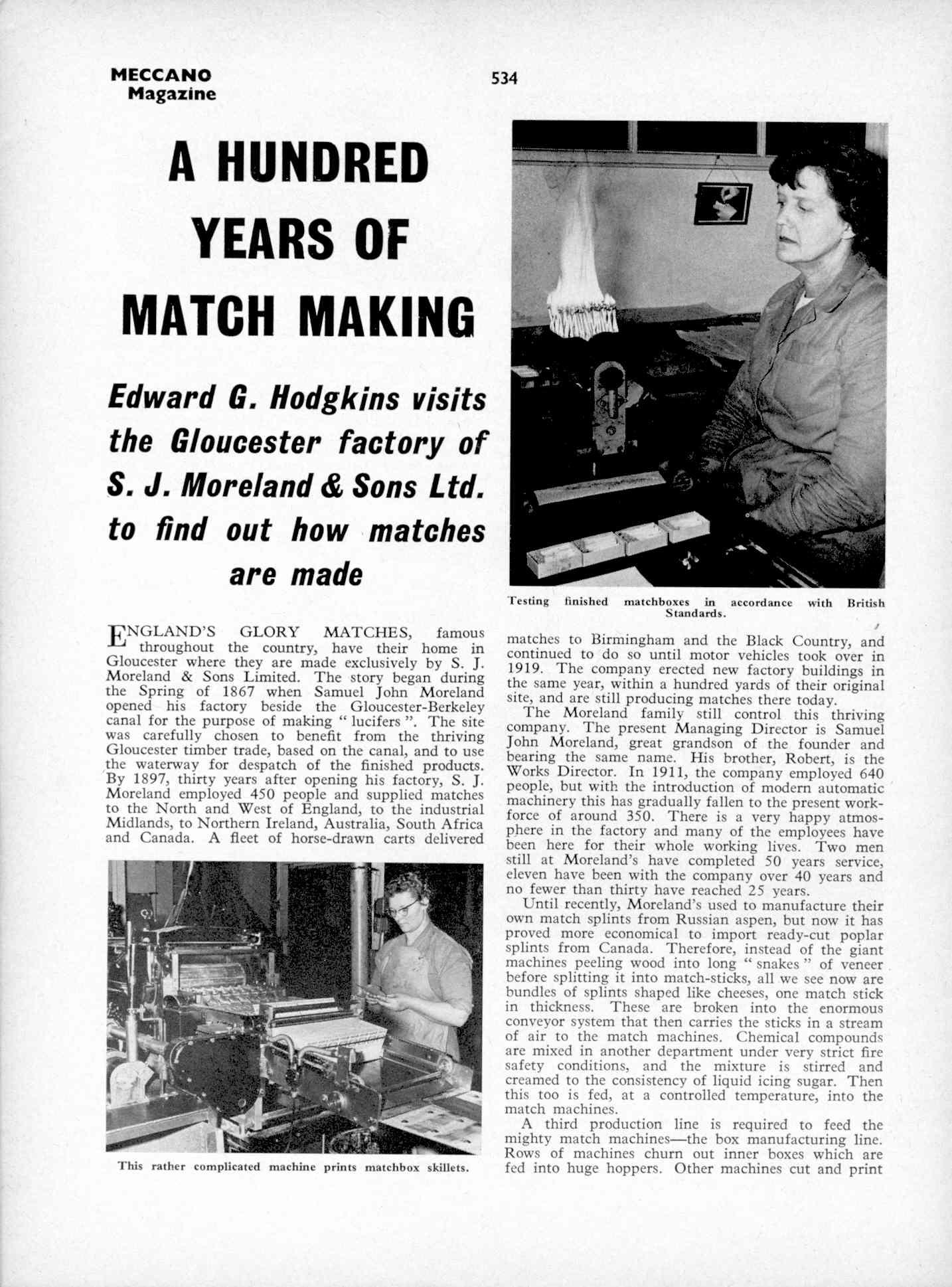 UK Meccano Magazine October 1970 Page 534