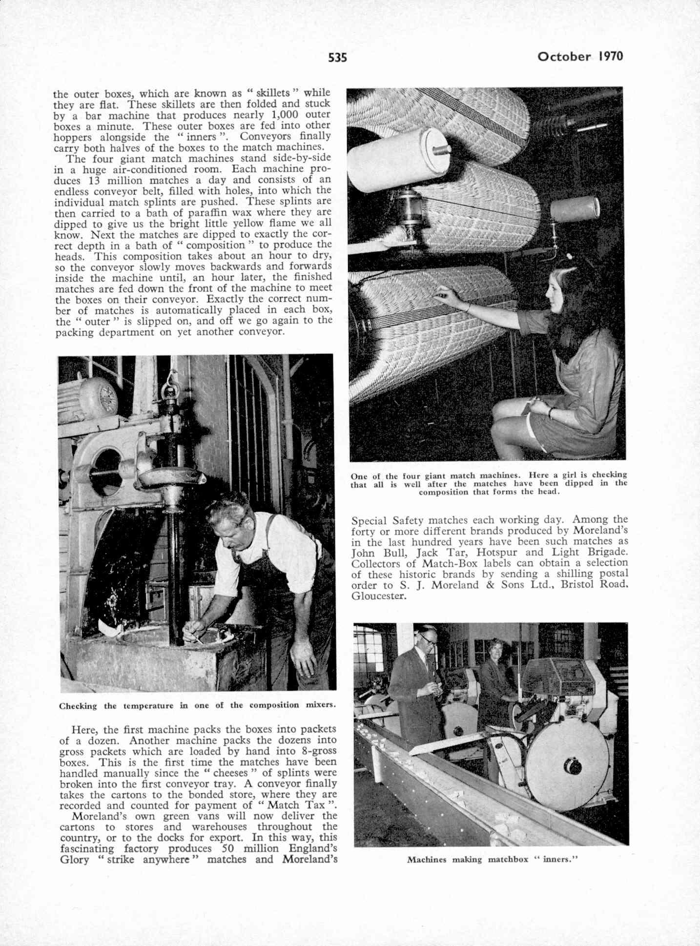 UK Meccano Magazine October 1970 Page 535