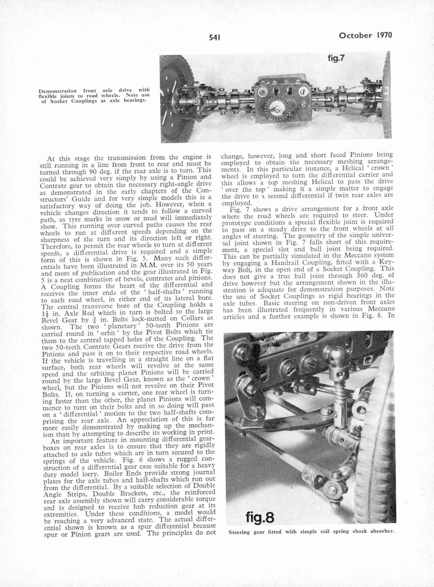 UK Meccano Magazine October 1970 Page 541