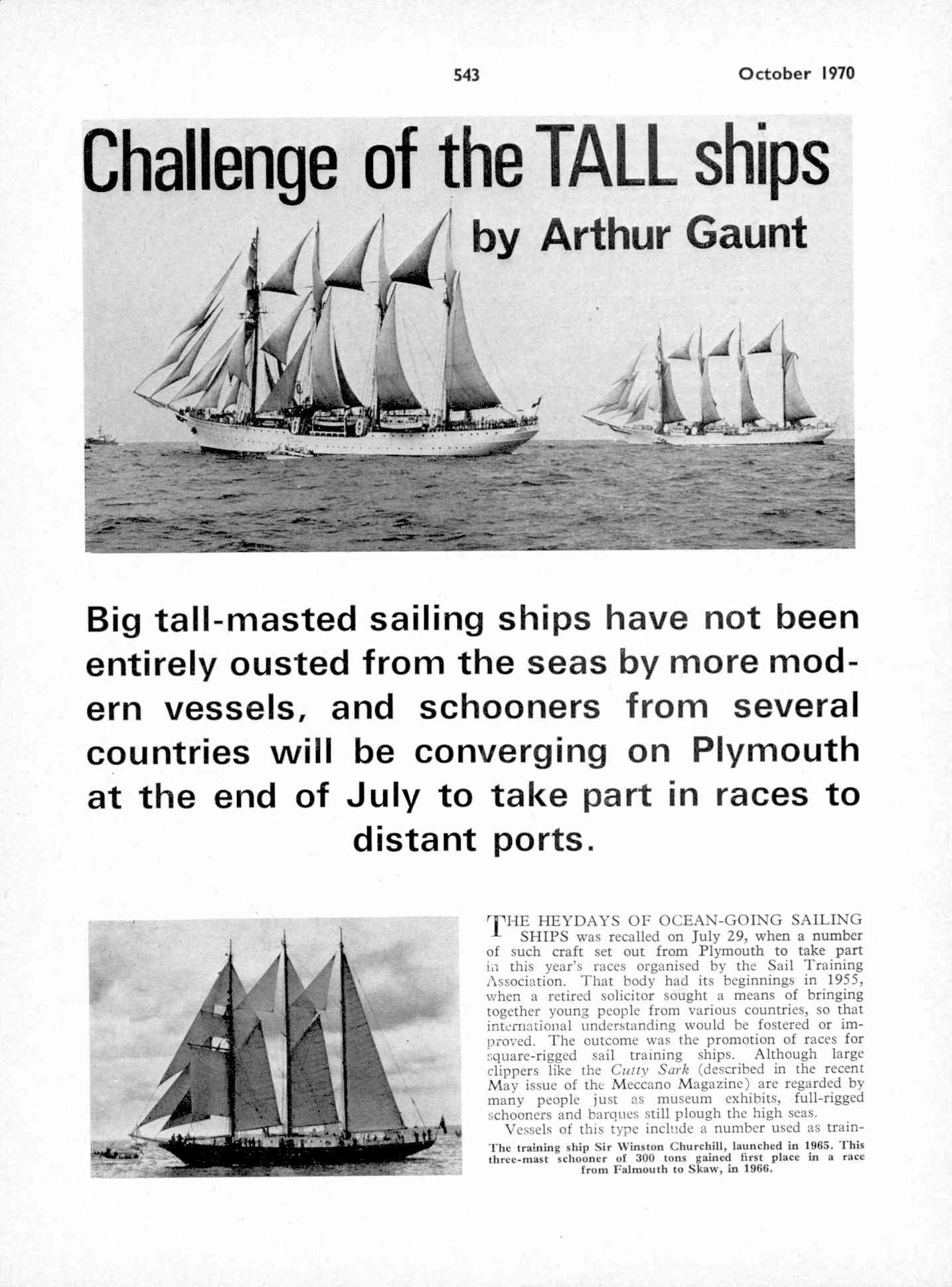 UK Meccano Magazine October 1970 Page 543