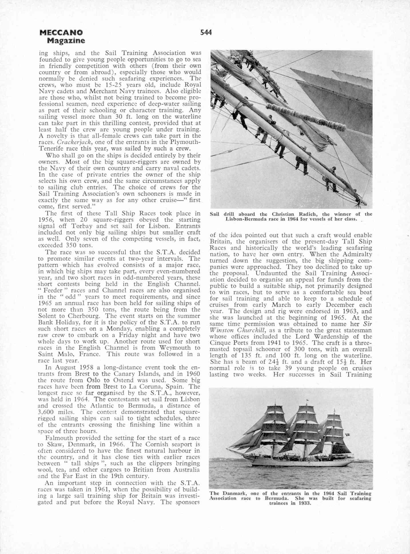 UK Meccano Magazine October 1970 Page 544