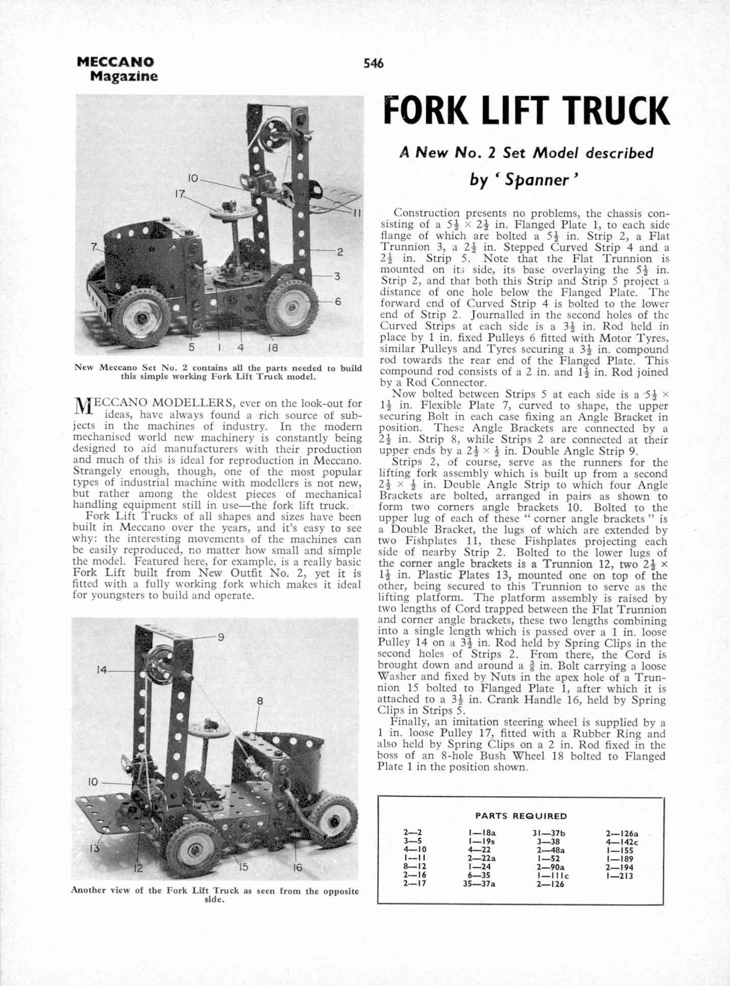 UK Meccano Magazine October 1970 Page 546