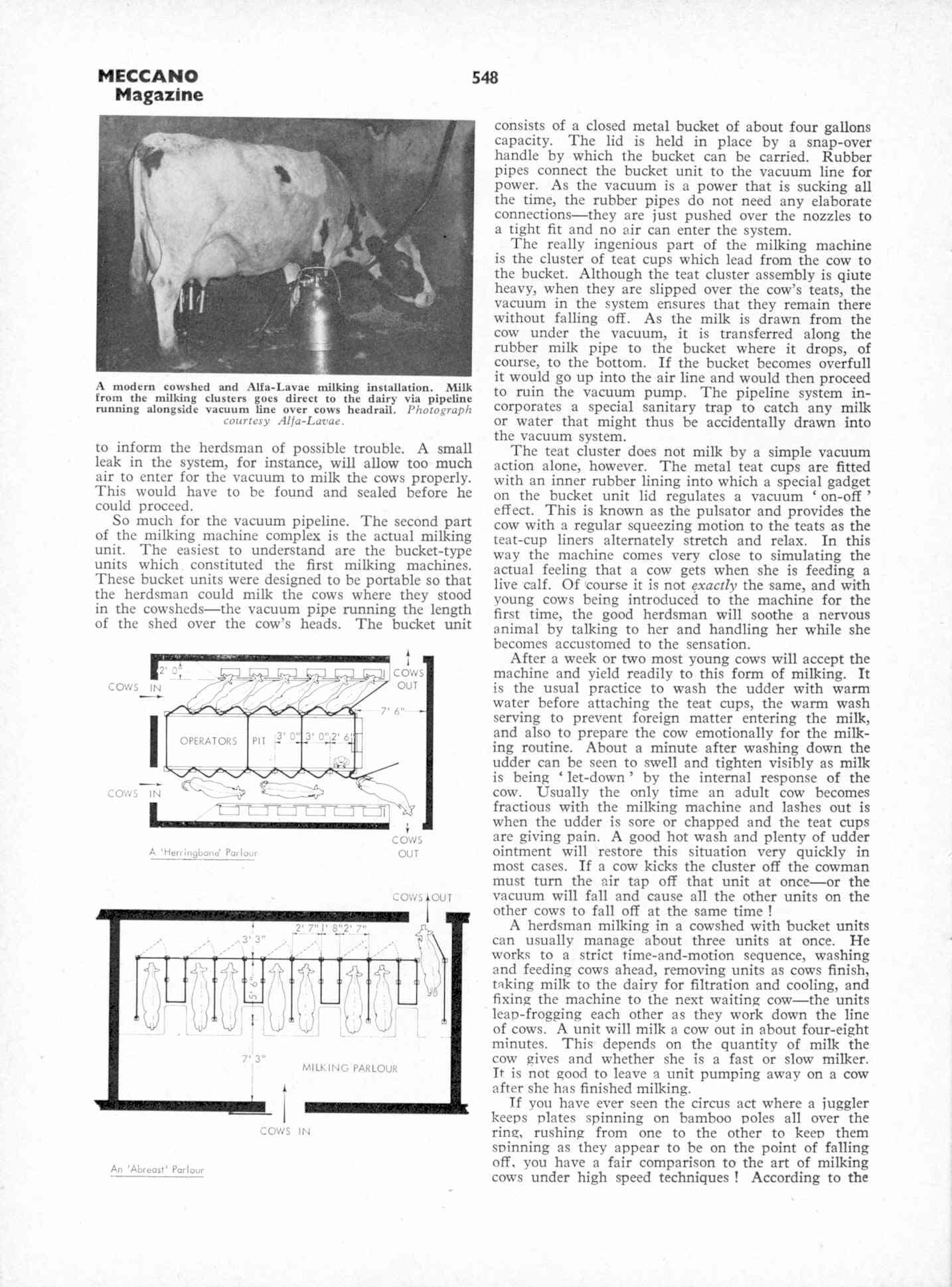 UK Meccano Magazine October 1970 Page 548