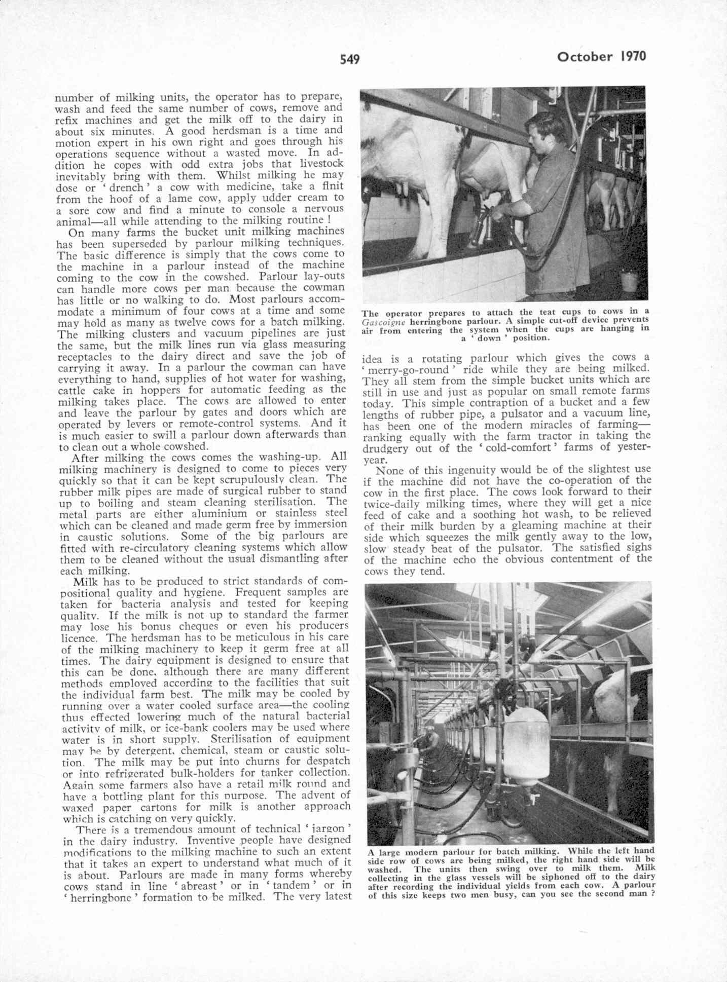 UK Meccano Magazine October 1970 Page 549
