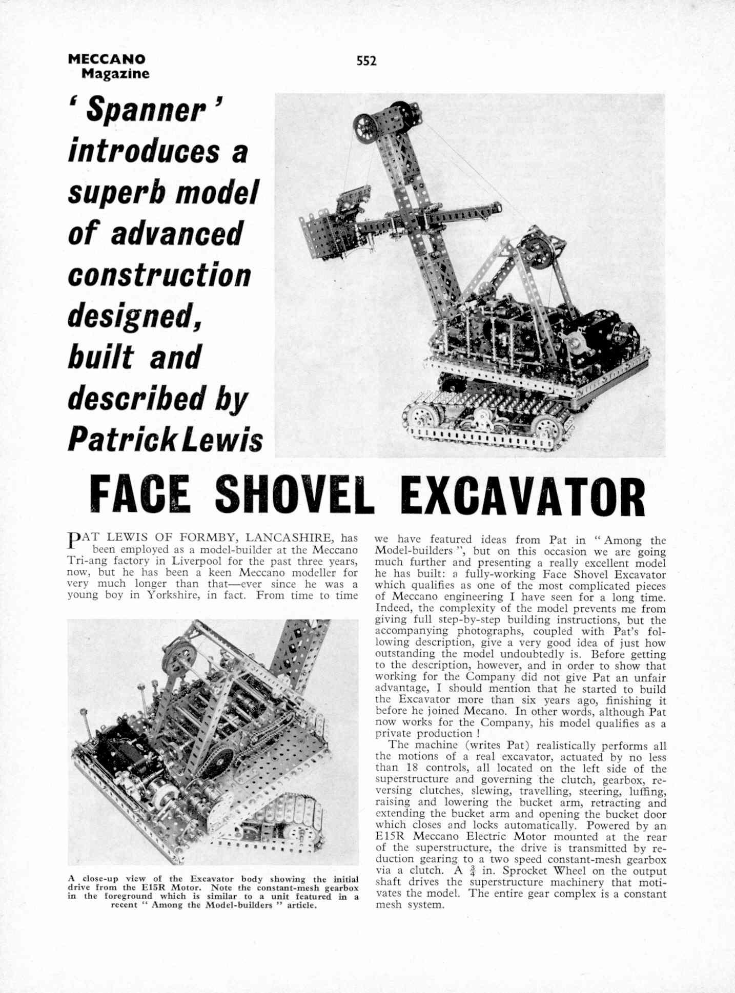 UK Meccano Magazine October 1970 Page 552