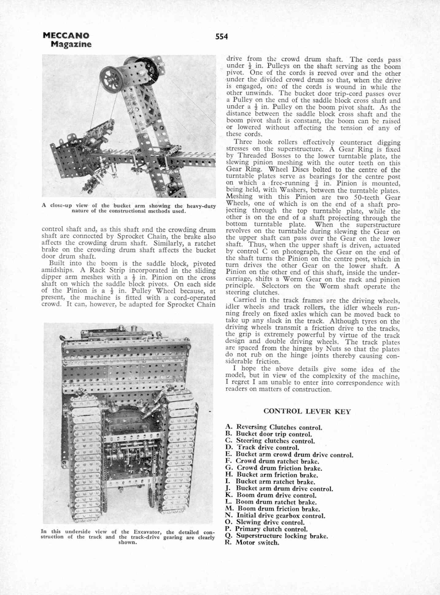 UK Meccano Magazine October 1970 Page 554