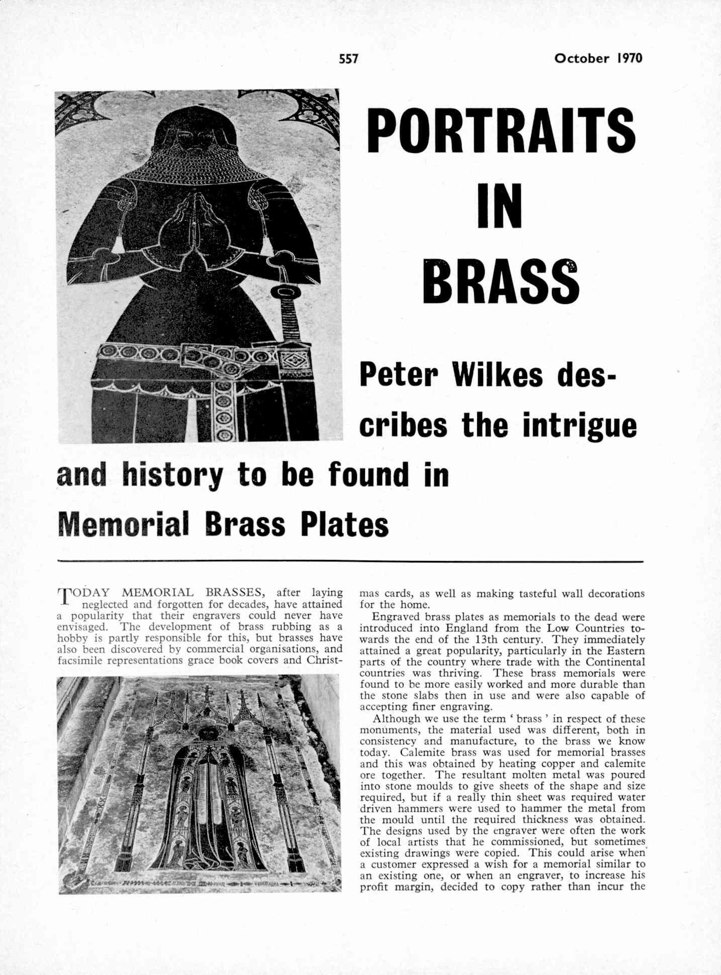 UK Meccano Magazine October 1970 Page 557