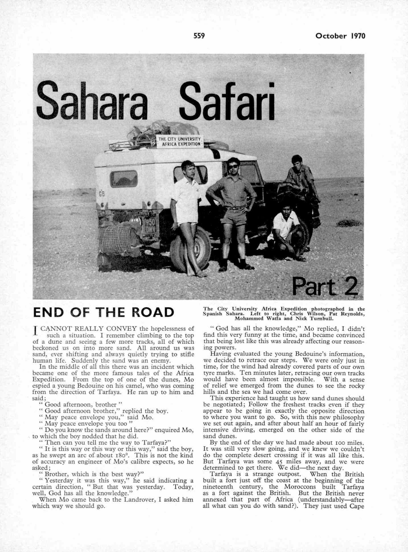 UK Meccano Magazine October 1970 Page 559