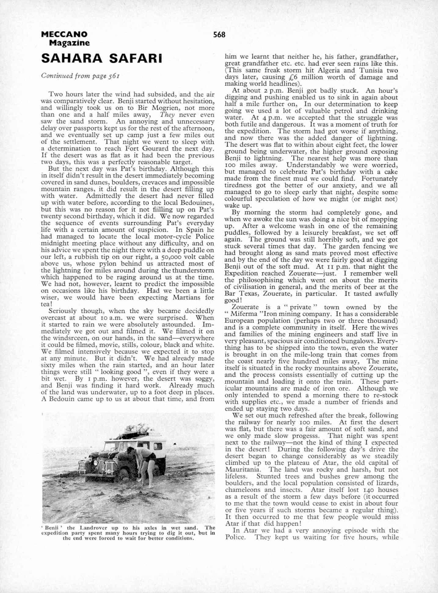 UK Meccano Magazine October 1970 Page 568